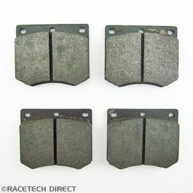 Racetech - Part No. TVR 025J018A Brake pad Tasmin non vented disc