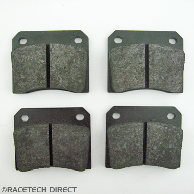 Racetech - Part No. TVR 025J033A Rear brake pad: Tasmin