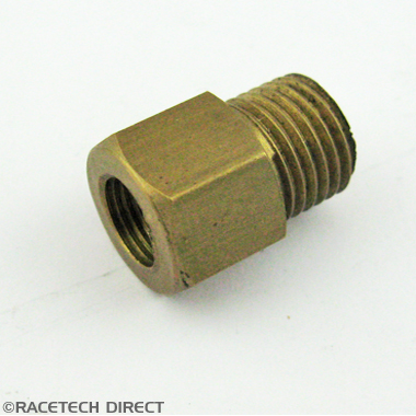 025N086A Brass Oil Adapter V6