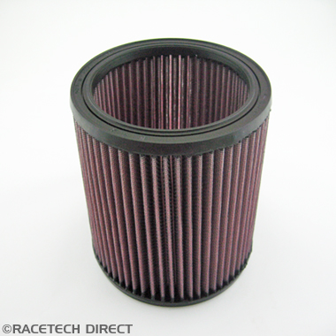 Racetech - Part No. TVR 035E162B K&N  Air filter V8 Tasmin