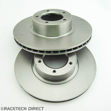 039J106A Brake Disc Front Vented For 2 pot Caliper