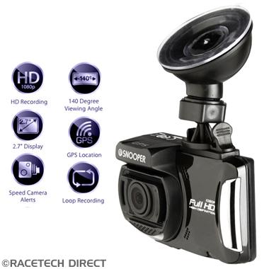 5019896137047 SNOOPER DVR-4 HD Dash Cam