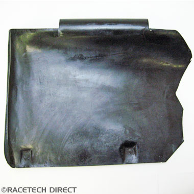 Racetech - Part No. TVR B0775 TVR Battery Wheel Arch Cover Tuscan Models Onwards RHD