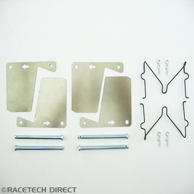 Racetech - Part No. TVR 15886  Brake pad retaining pin kit Front TVR M and Vixen