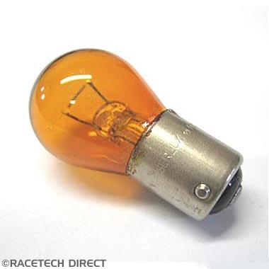 Bulb382Y Bulb Amber - Chimaera clear front Indicators 12v-21w