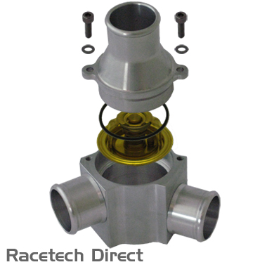 Racetech - Part No. TVR E2713 TVR Thermostat With Housing TVR AJP V8 Engine