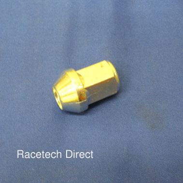 G0018 TVR Wheel Nut Silver ( Short ) 4 Stud Hubs