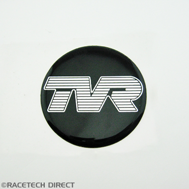 G0032B TVR wheel Name Plate Badge