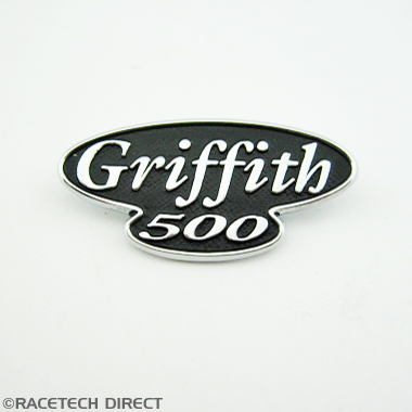 H0163 TVR Badge Griffith 500 Steering wheel Badge