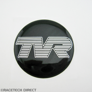 H0315 TVR Badge Steering Wheel Centre