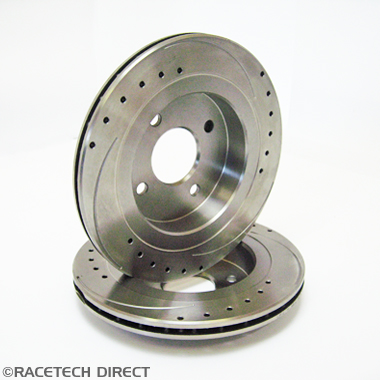 Aftermarket - Part No. TVR J0136B TVR Brake Disc Rear Vented Uprated 275mm