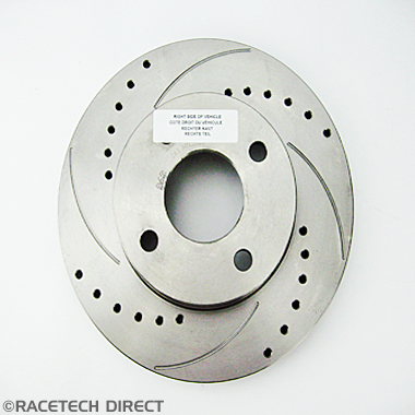 J0146B TVR Brake Disc Front Vented Uprated 260mm