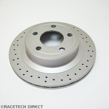 J0758  TVR Brake Discs Rear Pair - TVR Tuscan  Tamora T350