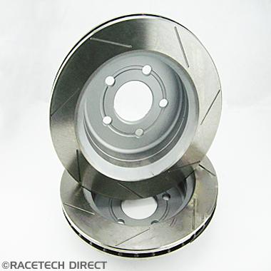 Racetech - Part No. TVR J0760GR TVR Brake Disc Rear 298mm Grooved