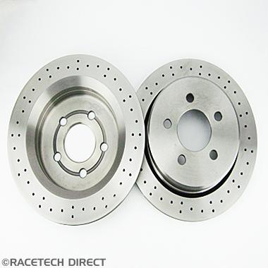 Racetech - Part No. TVR J0760 TVR Brake Disc Rear  298mm