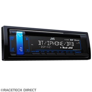 Racetech - Part No. TVR JVCKDDB98BT JVC KD-DB98BT 1-DIN CD Receiver