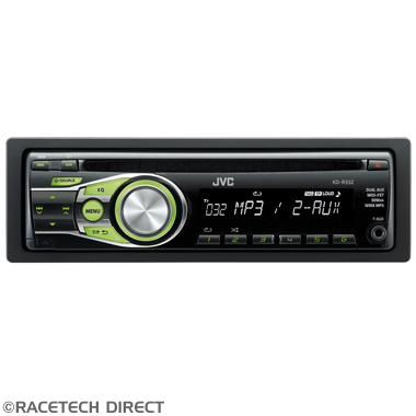 JVCKDR332 JVC KD-R332E CD Receiver with Dual AUX