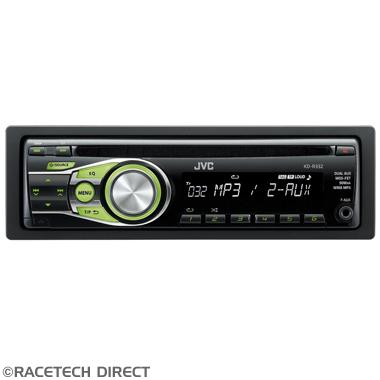 JVCKDR332 JVC KD-R332E CD Receiver with Dual AUX