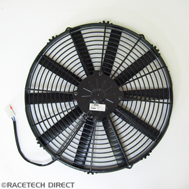 K0062Cooling Fan Blower in front of Radiator