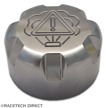 Racetech - Part No. TVR K0071A TVR Water Cap Alloy Compact