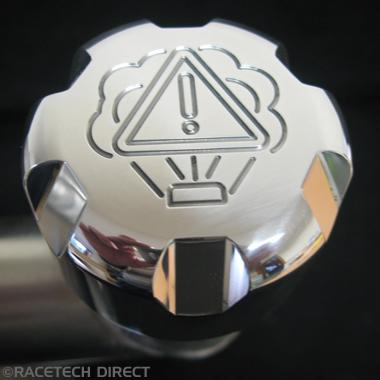 Racetech - Part No. TVR K0071A TVR Water Cap Alloy Compact