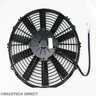 Original Equipment - Part No. TVR K0072  COOLING FAN TVR V8 305mm DIAM.THIN MOTOR
