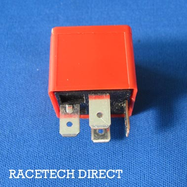 M0203 TVR Relay High amp 40A Red