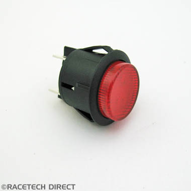 M0478 TVR Hazard Switch - Red Button on/off
