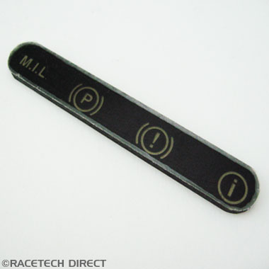 N0104 Dash Cover for Warning lights