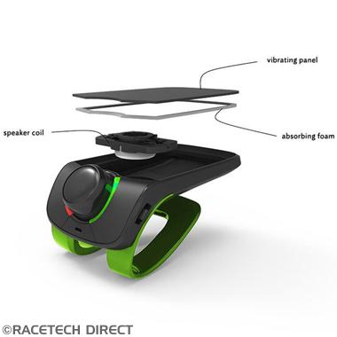 Racetech - Part No. TVR 3520410026065 PARROT MINIKIT NEO 2HD BLACK