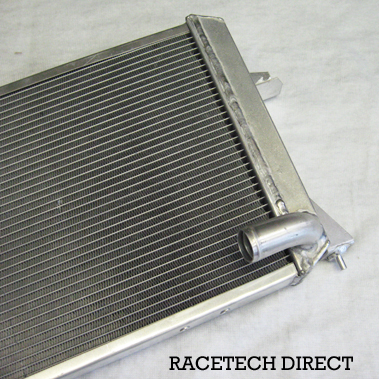 Racetech - Part No. TVR K0124AA TVR Radiator Alloy - Late Griff / Chim  / Cerb
