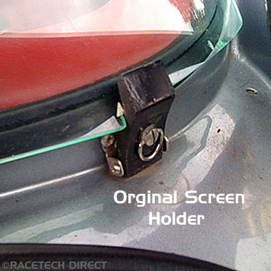 Aftermarket - Part No. TVR RD004  SCREEN CLIPS REAR TVR Tuscan Upgrade
