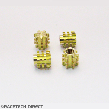 Racetech - Part No. TVR RD0052 TVR Bobbin Brass Blind M10 High Torq