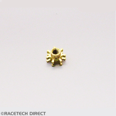 Racetech - Part No. TVR RD0304 TVR Bobbin Brass Blind M6 High Torq