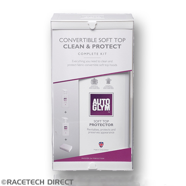 Aftermarket - Part No. TVR RDFABHOODKIT AutoGlym Convertible Soft Top Clean & Protect Complete Kit