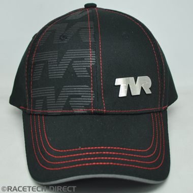 TVRC00702Z TVR Union Underpeak Cap - Black