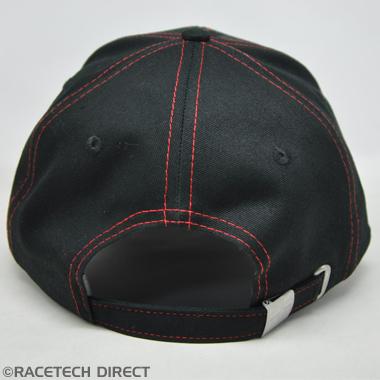 Racetech - Part No. TVR TVRC00702Z TVR Union Underpeak Cap - Black