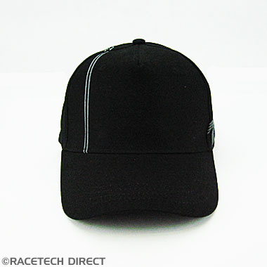 TVRC00802Z TVR Side Logo Cap - Black