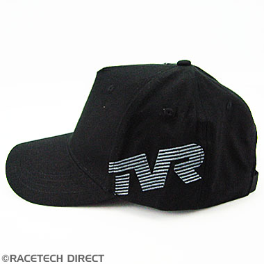 Racetech - Part No. TVR TVRC00802Z TVR Side Logo Cap - Black
