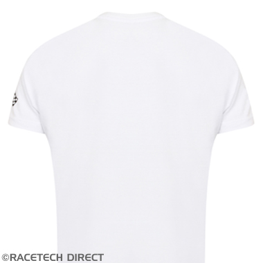 Racetech - Part No. TVR TVRTS00201 Spirit Of Driving T-Shirt - TVR Flag - White