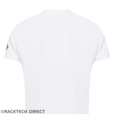 Racetech - Part No. TVR TVRTS00401 Spirit Of Driving T-Shirt - TVR - White