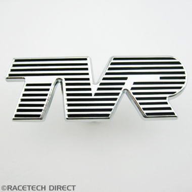 U0401  BONNET BADGE TVR - CHROME
