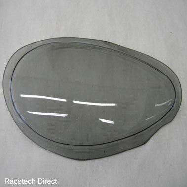 part no tvr u0531 headlamp lens cover tinted rh tvr. Black Bedroom Furniture Sets. Home Design Ideas