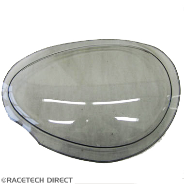 U0532 Headlamp Lens Cover Tinted LH TVR