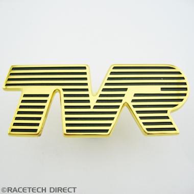 U0559 Badge - Bonnet TVR Gold