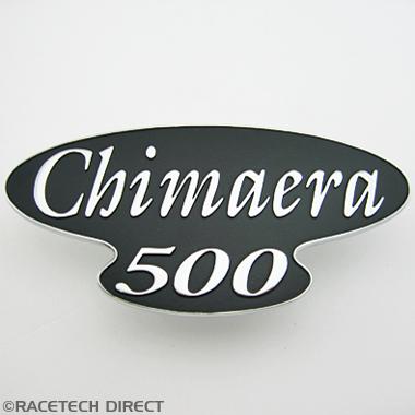 U1432 TVR Boot Badge Chimaera 500 Silver