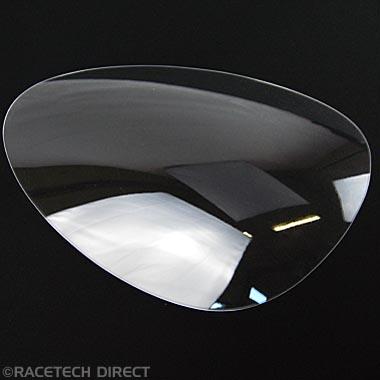 U2387 Head Light Lens Cover RH