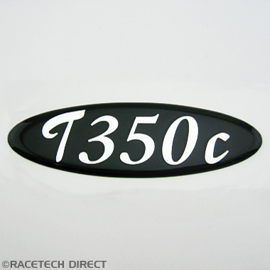U2519 TVR Boot Badge T350c