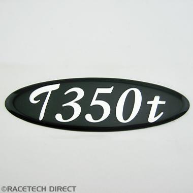 U2577 TVR Boot Badge T350t