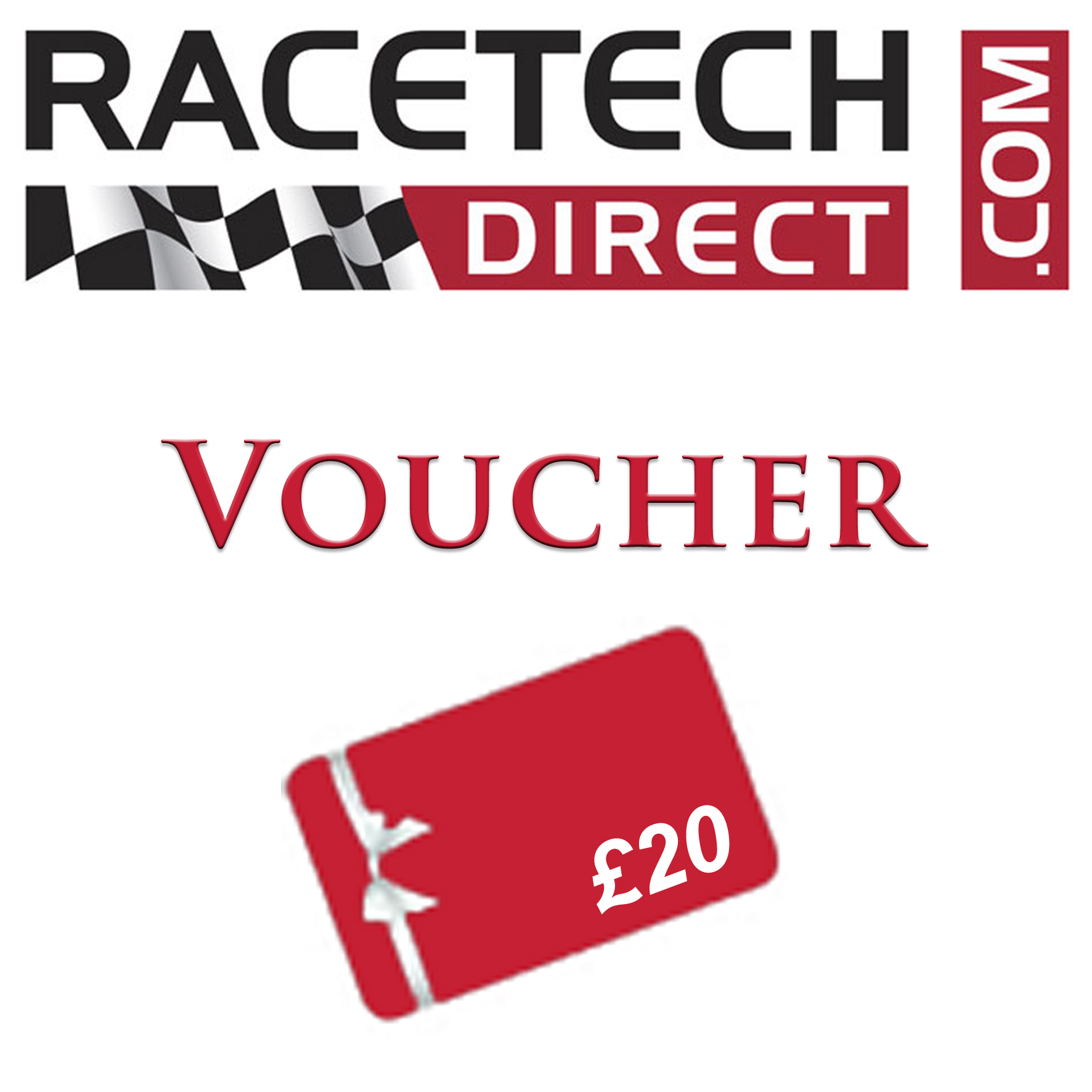 RDGIFT20 Racetech Direct £20 Gift Voucher